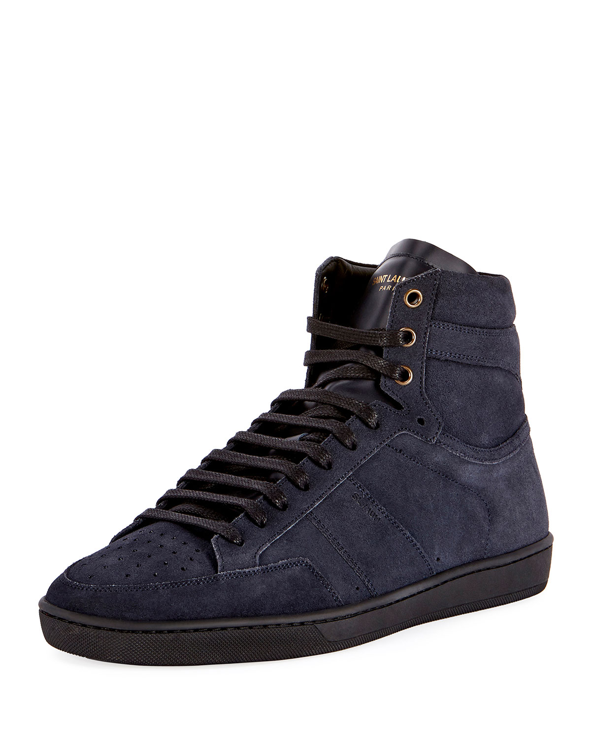 b438f1a99ff8c Saint LaurentSL 10H Men s Signature Court Classic Suede High-Top Sneakers
