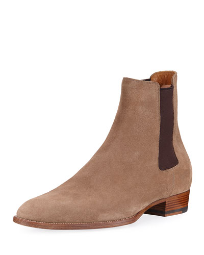 Men\'s Designer Boots: Chelsea & Dress at Neiman Marcus