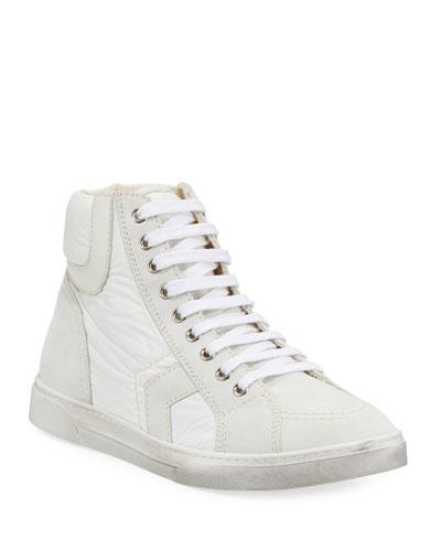 Men's Antibe Leather Mid-Top Sneaker