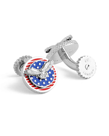 American Eagle Rotating Cuff Links