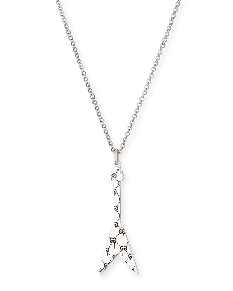 GucciGhost Men's Guitar Necklace