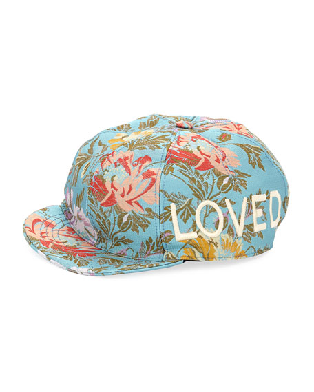 Gucci Loved Floral Jacquard Baseball Cap