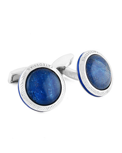 Limited Edition Signature Doublet Sapphire Cuff Links