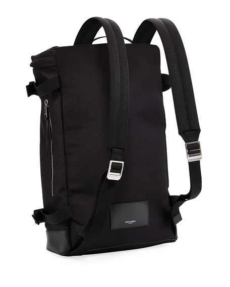 Rivington Race Canvas & Leather Backpack