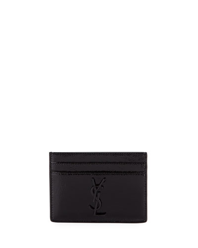 Monogram Patent Leather Card Case
