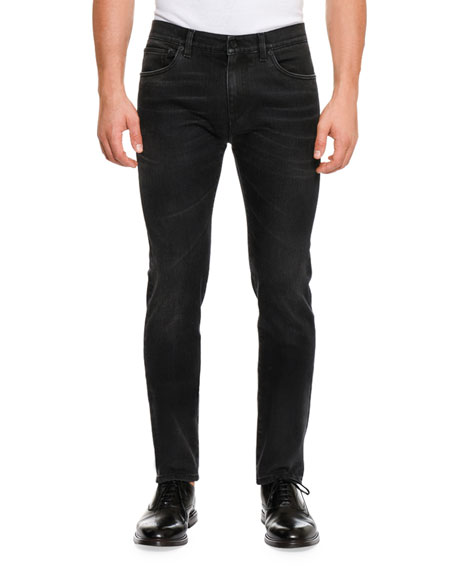 Dolce & Gabbana Basic Stretch Denim Slim-Fit Jeans,
