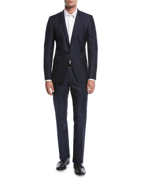 Jacquard Two-Piece Suit
