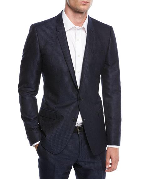 Dolce & Gabbana Jacquard Two-Piece Suit