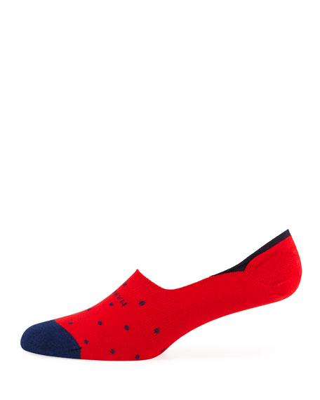 Marcoliani Invisible Touch Dot No-Show Socks