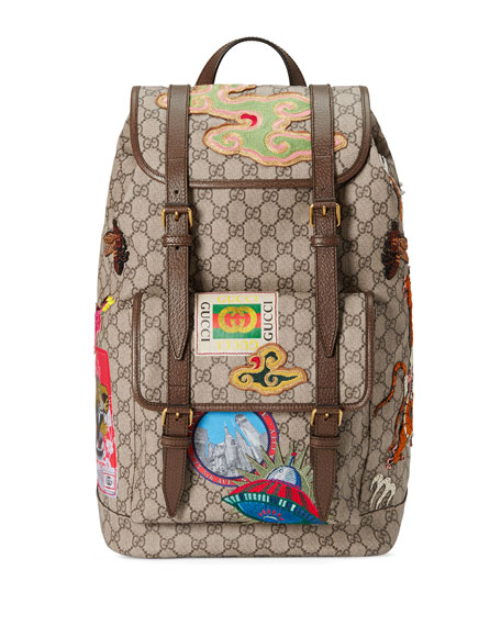 Gucci Gucci Courier Soft GG Supreme Backpack