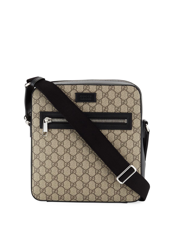 db25f2f9654a Gucci GG Supreme Flat Messenger | Neiman Marcus