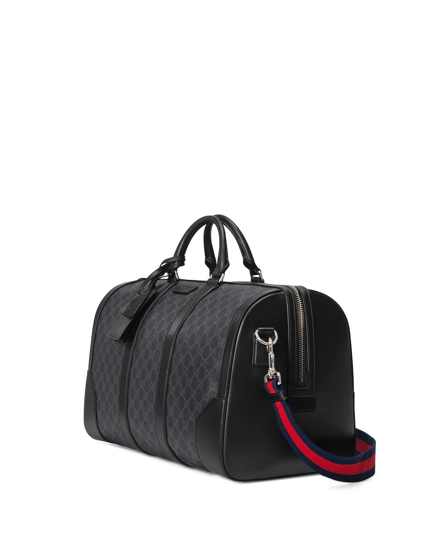 bfc9cf031cb4d3 Gucci Soft GG Supreme Carry-On Duffel Bag   Neiman Marcus