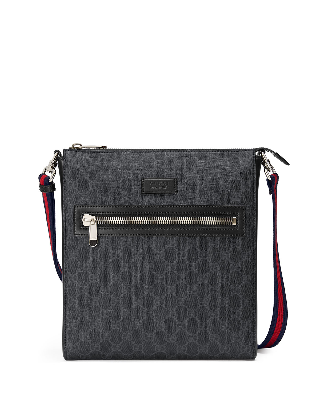 e8f15aa9c3a06 Gucci GG Supreme Messenger Bag