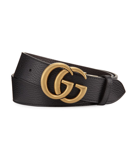 GUCCI REVERSIBLE LEATHER DOUBLE G BELT