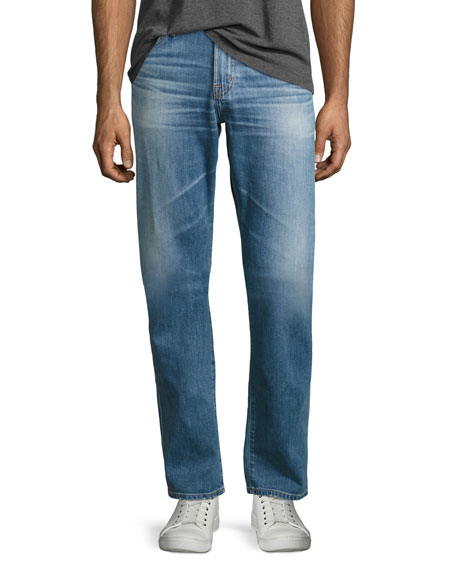 AG Graduate Das Straight-Leg Jeans, Light Blue