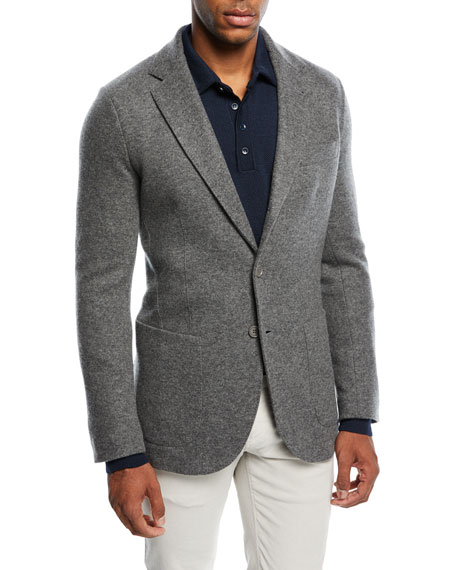 Loro Piana Cashmere-Blend Sweater Jacket and Matching Items