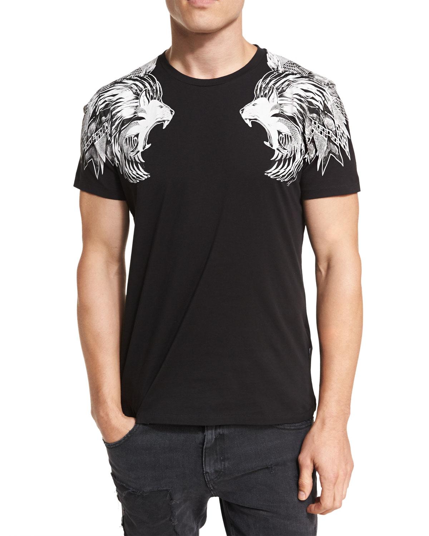 Just Cavalli Lion Sweatshirt black
