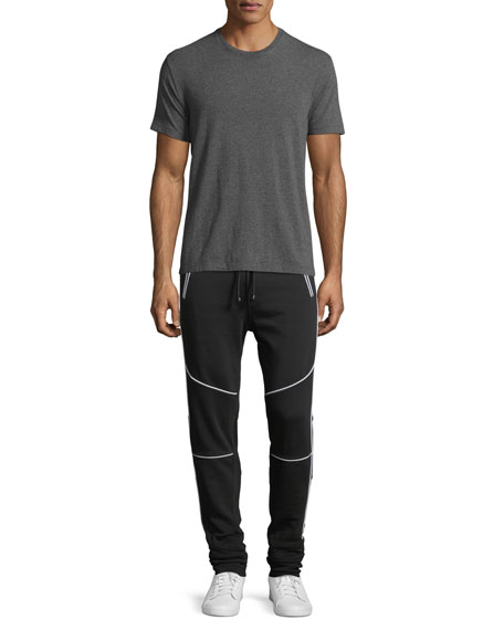 Cotton Moto Jogger Pants