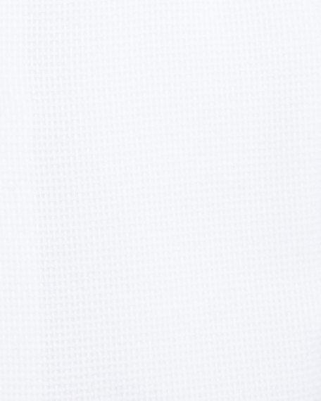Gold Label Textured Cotton Dress Shirt, White