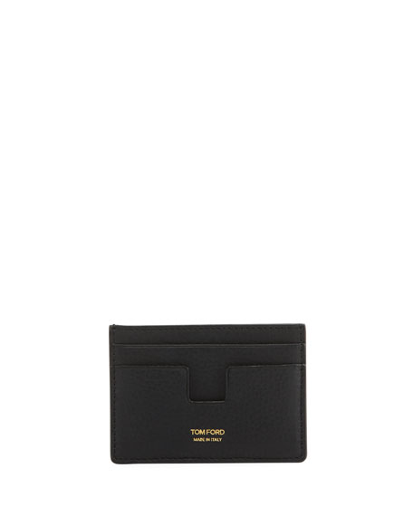 TOM FORD Grained Leather Classic Card Holder