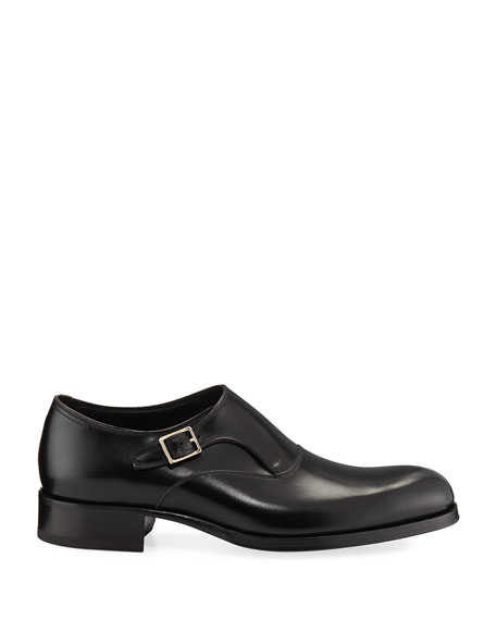 Edgar Calf Leather Monk Shoe