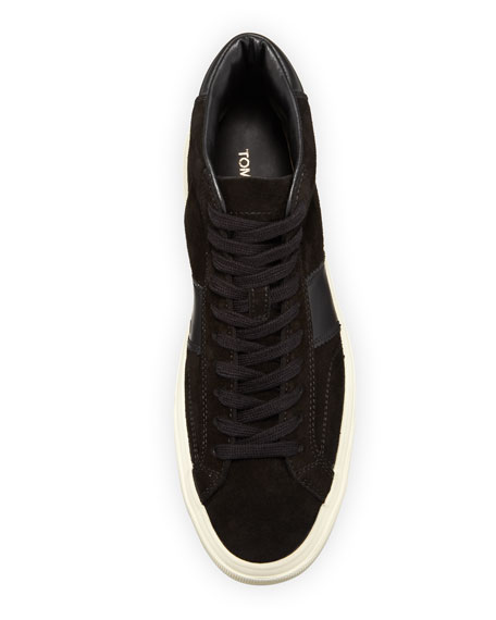 Men's Cambridge Suede High-Top Sneakers
