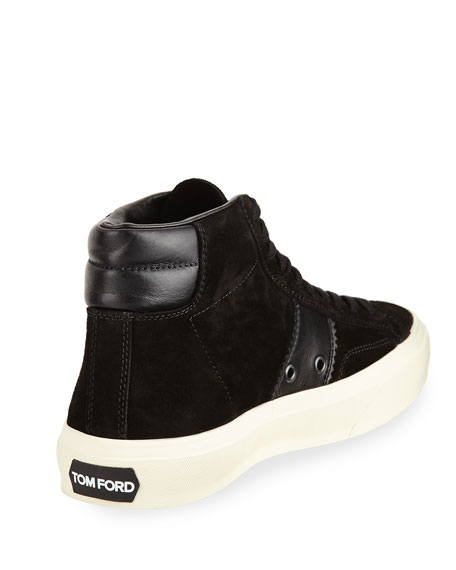 Cambridge Suede High-Top Sneaker