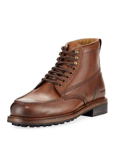 TOM FORD Cromwell Leather Hiking Boot