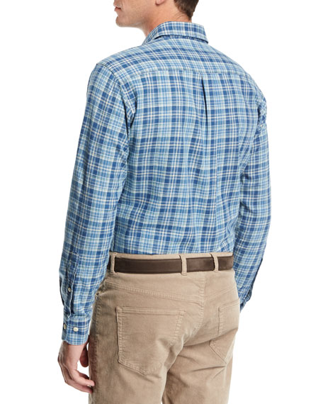 Appalachian Check Flannel Sport Shirt