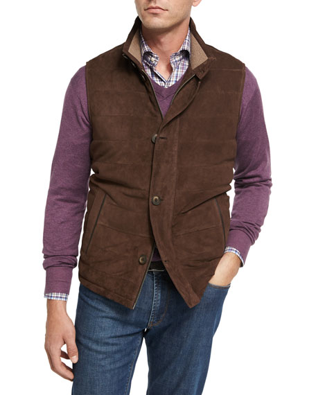 Worthington Suede Vest, Brown