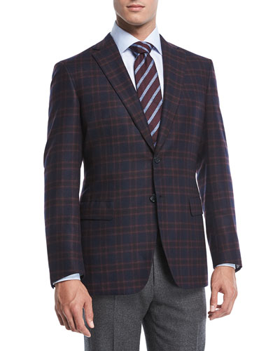 Cashmere Plaid Jacket