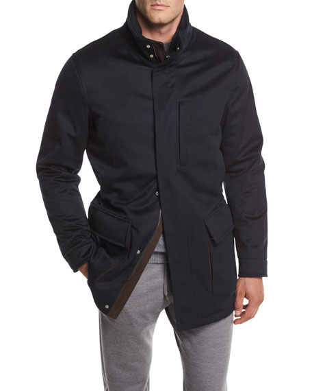 Elements Cashmere Field Jacket
