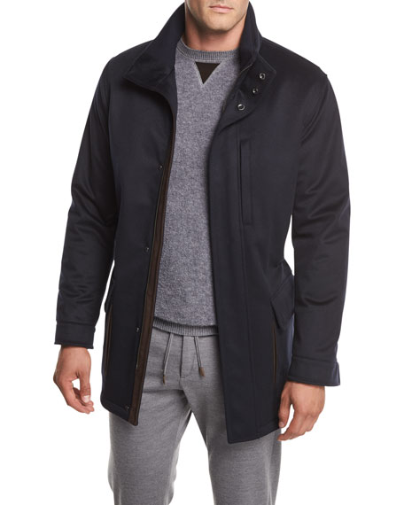 Ermenegildo Zegna Elements Cashmere Field Jacket