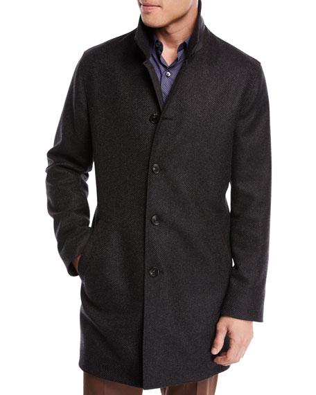 Reversible Twill Coat