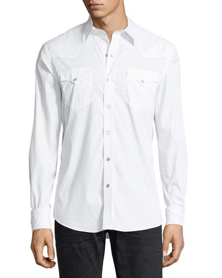 Ralph Lauren Poplin Western Shirt