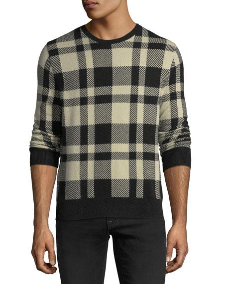Large Buffalo Check Sweater