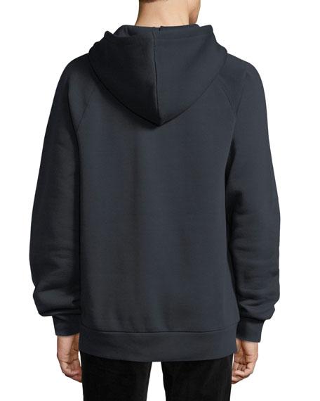 Krayford Logo-Embroidered Hooded Sweatshirt, Navy