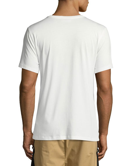 Aircraft Carrier Cotton T-Shirt, White
