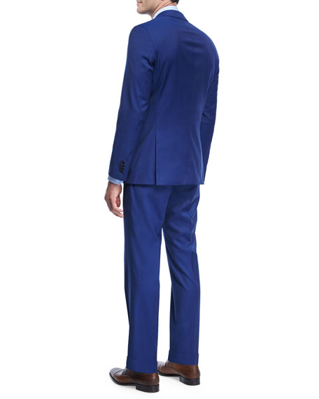Twill Natural Stretch Wool Pants