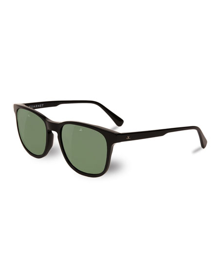 District Square Sunglasses, Black