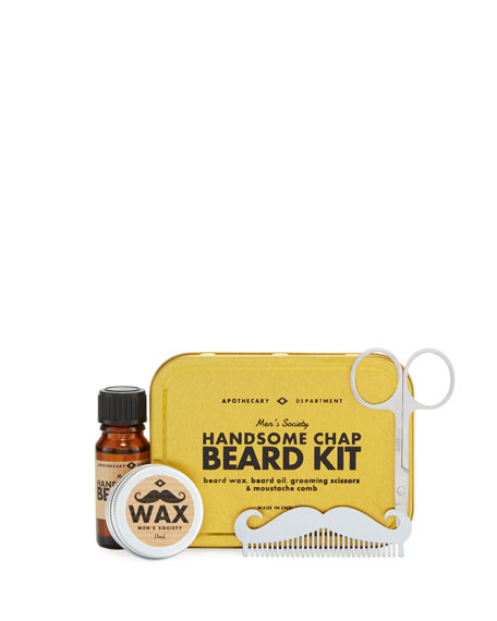 Men's Society Handsome Chap Beard Kit