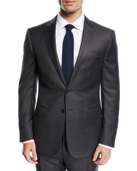 Ralph Lauren Pinstriped Wool Suit