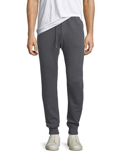Cashmere-Cotton Knit Jogger Pants