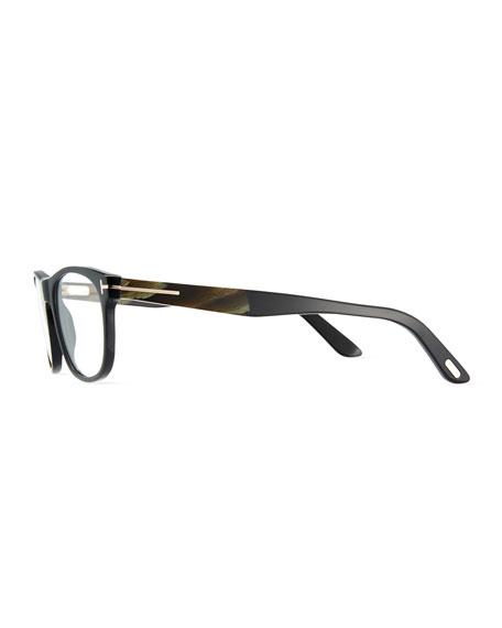 Soft Square Acetate & Horn Optical Frames