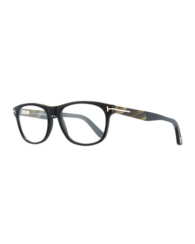 Soft Square Acetate & Horn Optical Frames