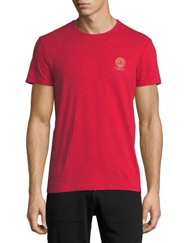 Medusa Logo Crewneck T-Shirt