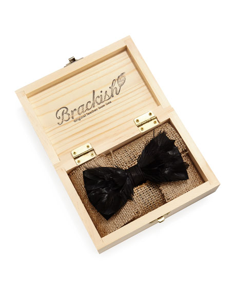 Goose Feather Formal Bow Tie