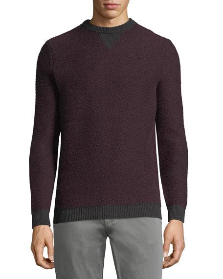 Il Borgo Contrast-Trim Cashmere Sweater