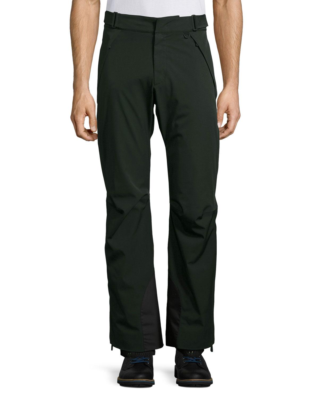 competitive price b7c98 59f53 Nylon Ski Pants, Black