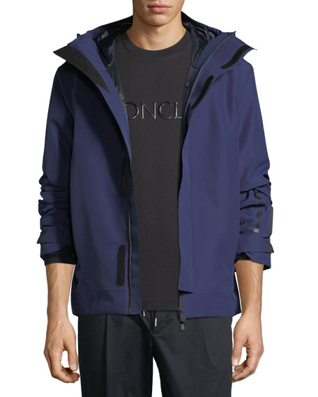 Moncler Grenoble Megeve High-Performance Hooded Jacket
